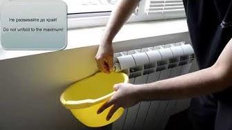 Miten päästä ulos ilmasta lämpöpatterista