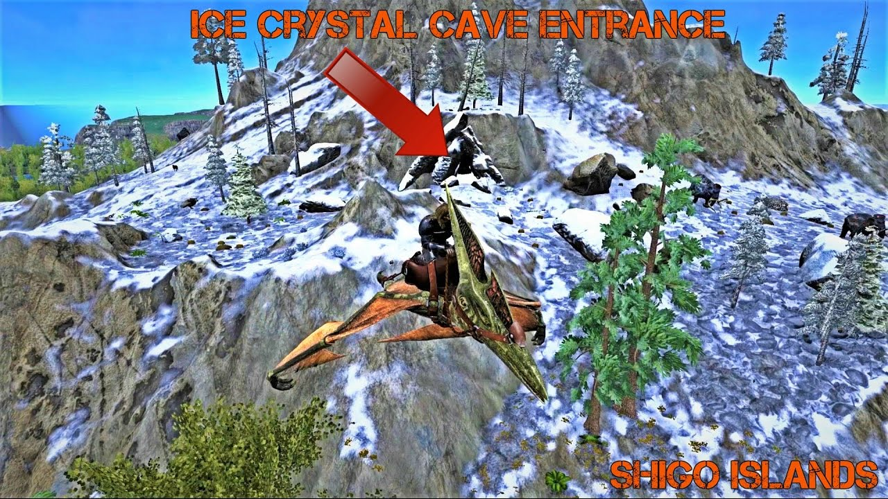 Ark The Island Caves Locations