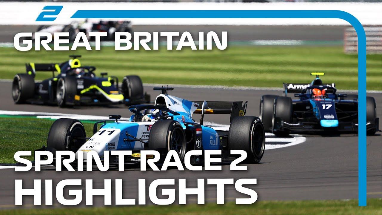 Download F2 Sprint Race 2 Highlights | 2021 British Grand Prix
