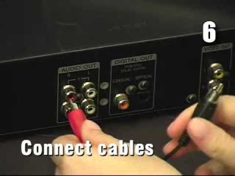 How to Connect a DVD Player to a Computer - YouTube