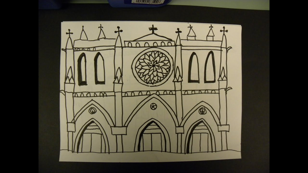 Kids Can Draw Notre Dame De Paris