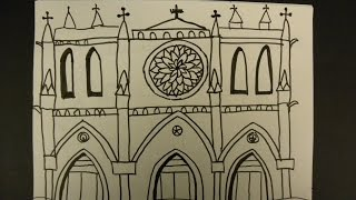 Kids Can Draw: Notre Dame De Paris