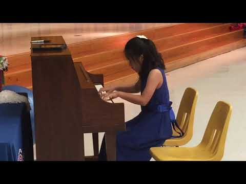 Julianne ZHOU plays Tempest Beethoven Piano Sonata Op 31 No 2 at Talent Show