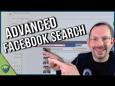 Advanced Facebook Graph Search