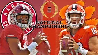 Alabama vs Clemson College Football Playoff National Championship Prediction