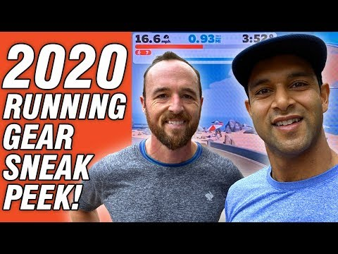 2020 Running Gear Sneak Peek