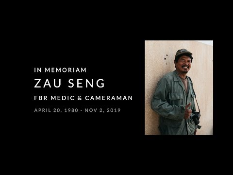 Remembering Kachin Ranger Zau Seng Who Was Killed By Turkish-Supported Free Syrian Army Attack