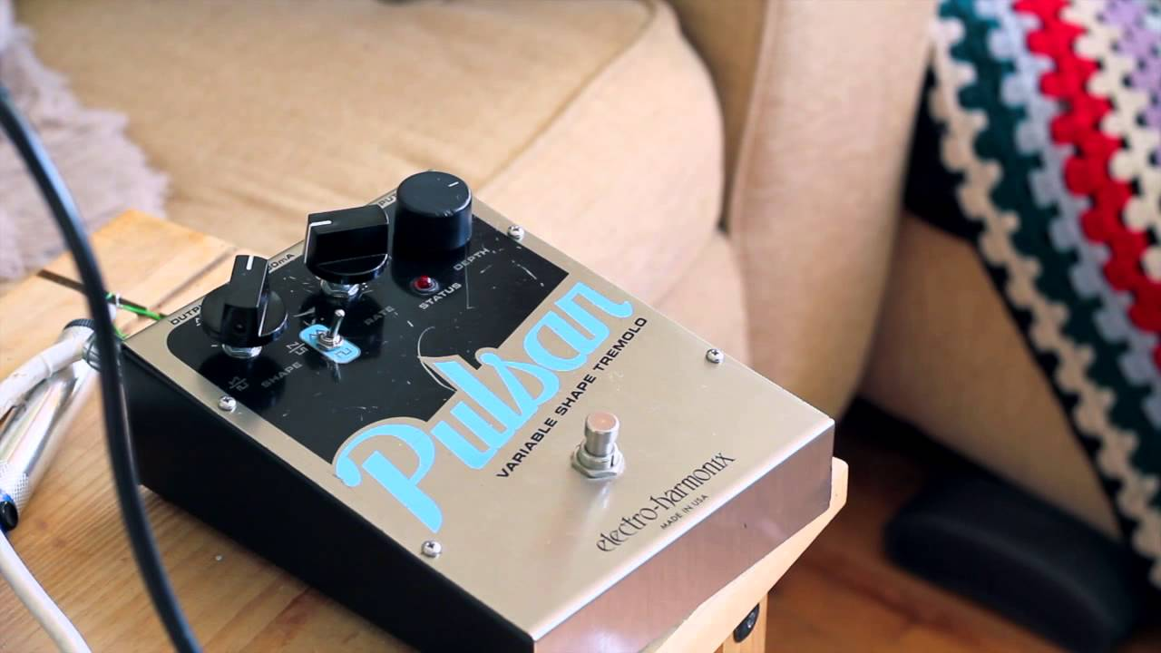electro harmonix ehx pulsar guitar effects pedal demo youtube. Black Bedroom Furniture Sets. Home Design Ideas