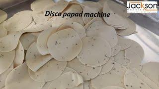 Disko Papad | Papad Cutting Machine | Papad Machine