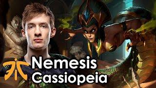 Nemesis picks Cassiopeia
