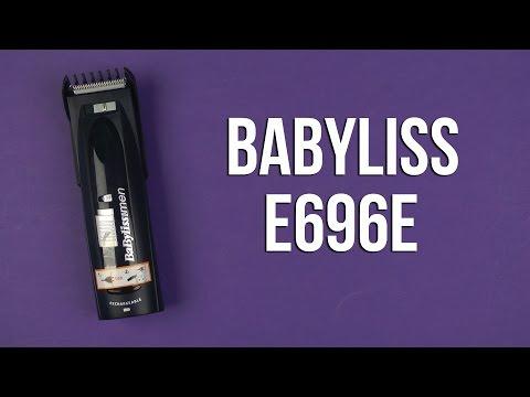 Распаковка BABYLISS E696E