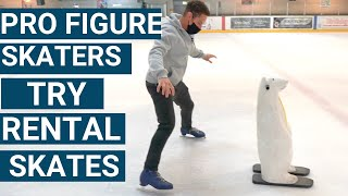 Can Pro Figure Skaters Ice Skate Using Rental Skates?