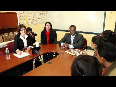 Major donation brings Boston International High School closer to in-school library