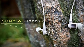 Sony WI-1000x Review - Quality Noise Cancelling Earphones