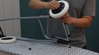 장바구니카트 바퀴조립영상
