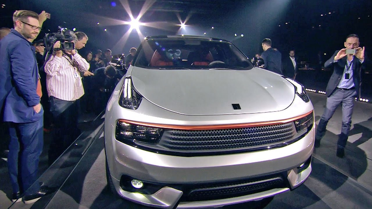 2018 Link Co 01 New Car Brand World Premiere Youtube
