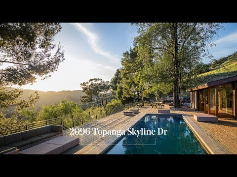 SOLD | Mid-Century Zen Retreat with Majestic Views | Topanga