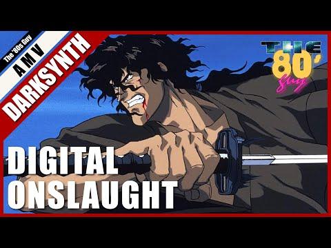 Dan Terminus - Digital Onslaught (Dark Synthwave AMV)