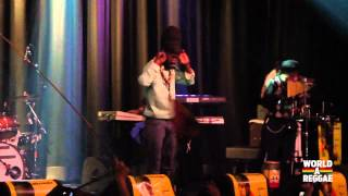 Sizzla Kalonji & the Firehouse Crew live 2012 @ Melkweg, Amsterdam - Woman I Need You