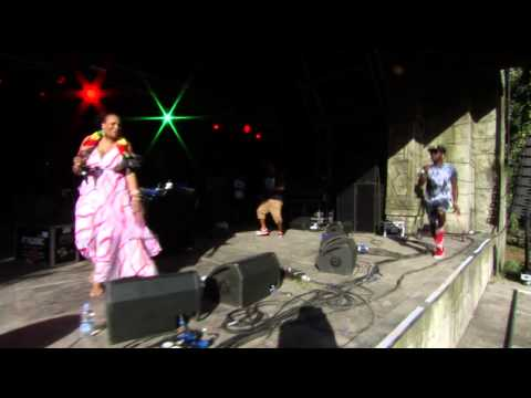 Stylo G & Sister Nancy - Badd (Live at BoomTown Fair 2014)