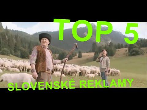TOP 5 slovenské reklamy