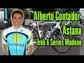 Alberto Contador Astana Trek 6 Series Madone  2009