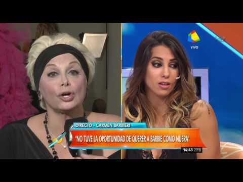 Carmen Barbieri: No tuve la oportunidad de querer a Barbie como nuera