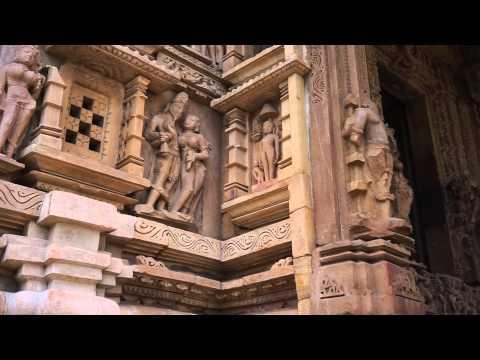 India Kajuraho   Temple Sculpture