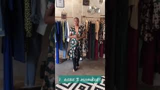 1 robe cache cœur 3 manières de la porter