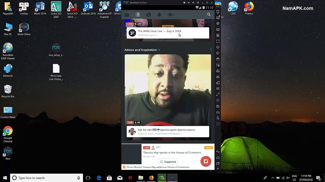 periscope on pc windows 10