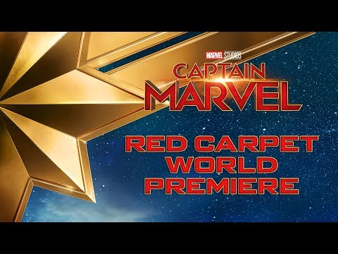 Watch the Captain Marvel Red Carpet World Premiere live stream