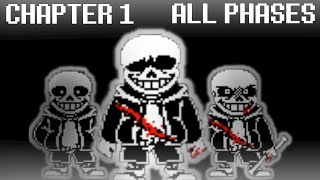 Download Undertale Last Breath Chapter 1 ALL 3 Phases (1 Death) | Undertale Fangame