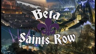 All The Saints Row Beta Versions (Cut Content, Beta Map, Beta Storyline)
