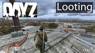 DayZ Xbox One Gameplay Inventory Management, Airfield Looting, Can Opener Worms