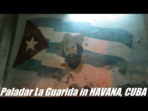 Travel to CUBA: Paladar La Guarida in Havana - Alberto Korda & Che Guevara