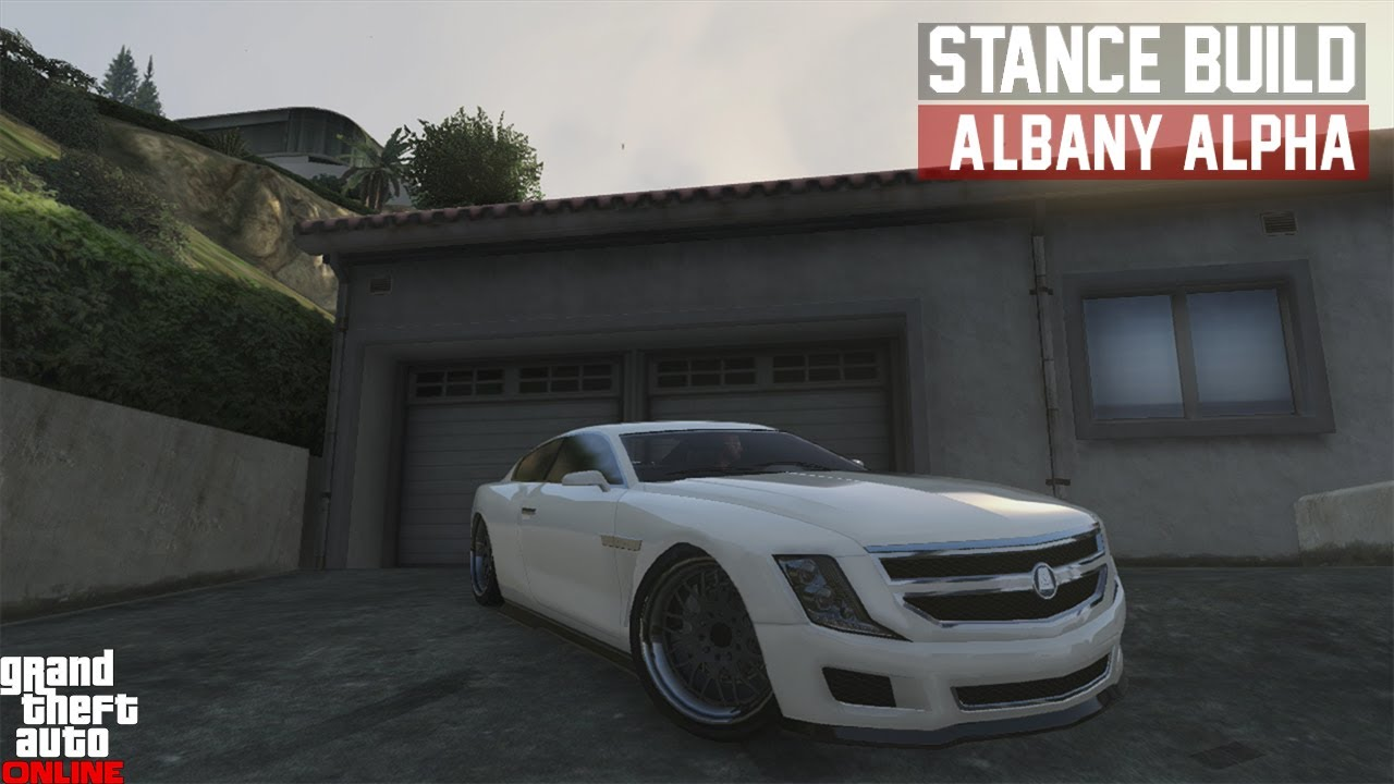 gta 5 stance build albany alpha cadillac cts youtube. Black Bedroom Furniture Sets. Home Design Ideas