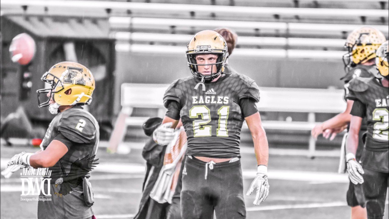 Reese Pettijohn Highlights Abilene High Eagles Football 2018 Youtube