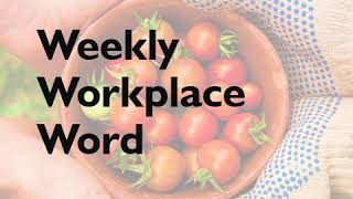 Accept - Weekly Workplace Word