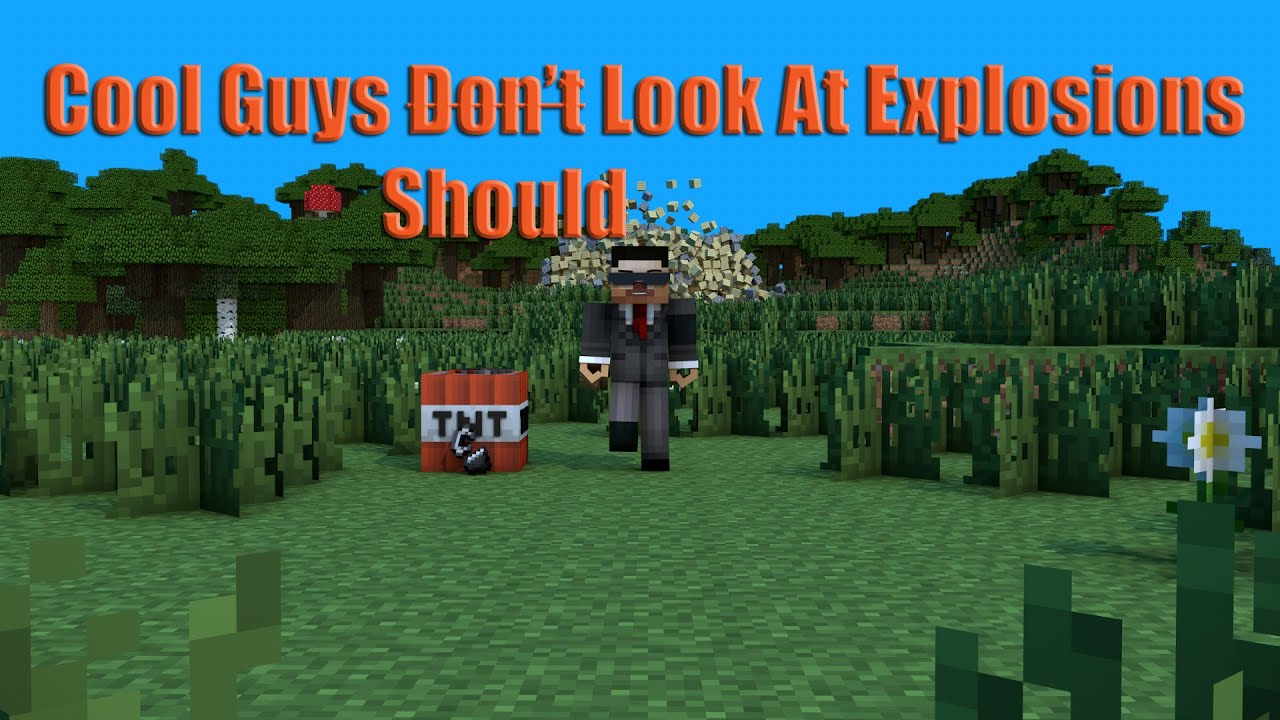 Minecraft Animation - Cool Guys Don't (Should) Look At ...