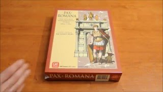 Pax Romana 2nd edition - Intro & unboxing