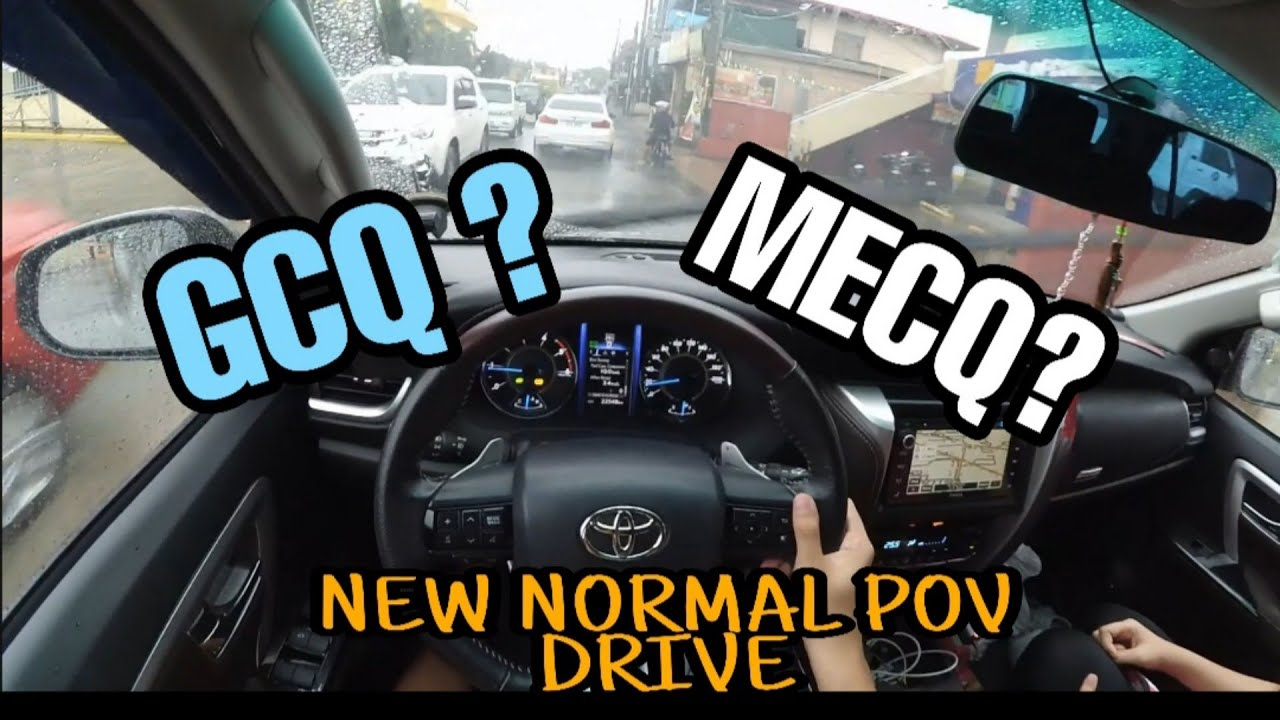 Rainy Pov Drive L New Normal L Gcq Mecq L Shoutouts L Fortuner