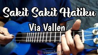 Via Vallen - Sakit Sakit Hatiku Cover kentrung ukulele by Feri Yt Official