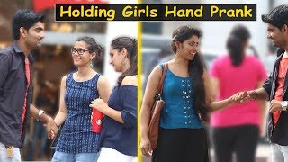 Holding Strangers Girl Hand In Public Prank - Prank in India | The HunGama Films