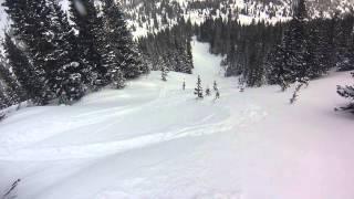 Front Range Backcountry Skiing January 2015
