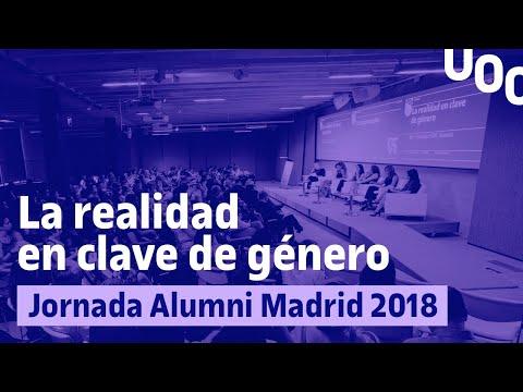 La realidad en clave de género Jornada Alumni Madrid 2018 | UOC