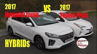 2017 Hyundai Ioniq hybrid VS 2017 Toyota Prius Hybrid