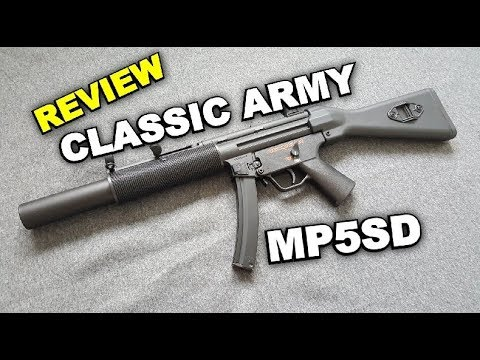 Download Classic Army MP5 SD - Schwaben Arms SAR M41/05 SD  - REVIEW 4k/UHD