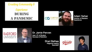 Creating Community & Experience During a Pandemic