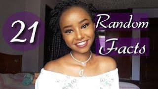 21 Random Facts About Me | Wabosha Maxine
