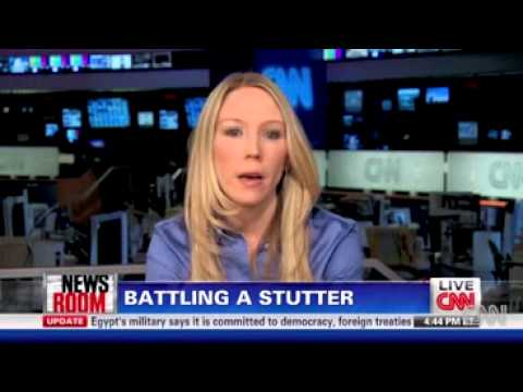 Chamonix Olsen Sikora and Clarence Page on CNN discussing Stuttering